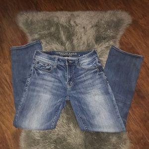 "American Eagle 🦅 28x30 ""original boot"" jeans"